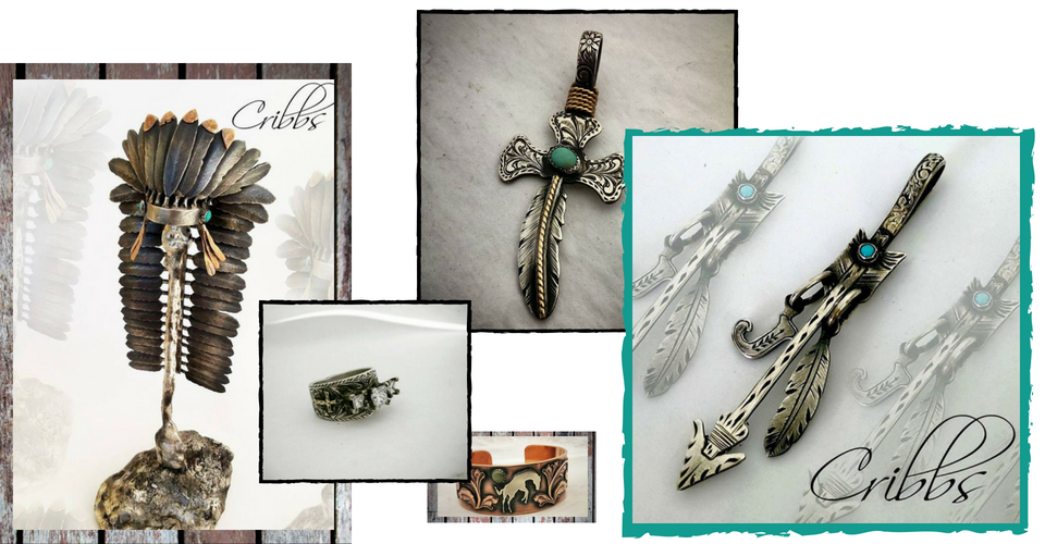 collage of signature jewelry pieces